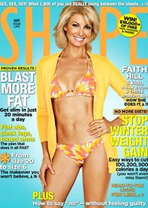 Faith Hill On The Cover Of Shape Magazine