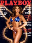 Sandra Taylor On The Cover Of Playboy In July 1995