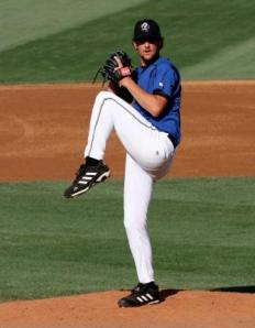 Nick at his Cal League debut