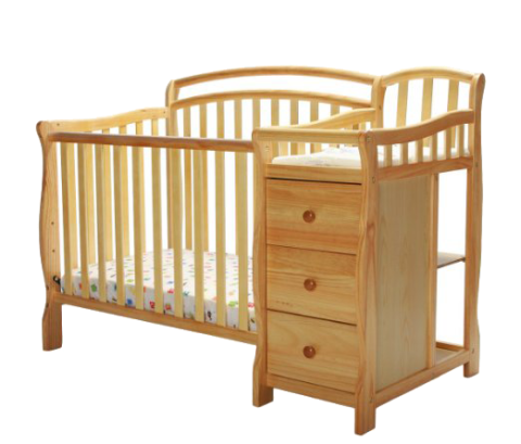 dream on me casco crib with storage PNG